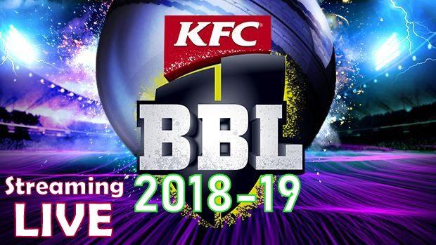BBL 2018-19 Schedule teams fixtures