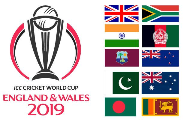 Cricket World Cup Teams