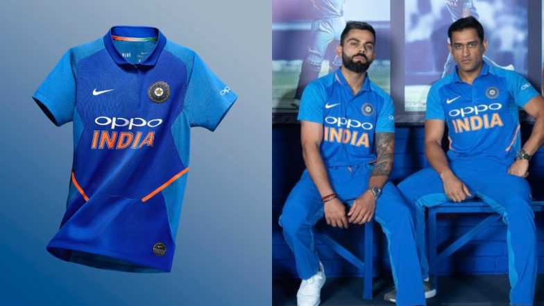 India ICC Cricket World Cup 2019 Jersey Kit