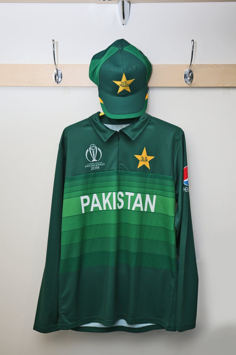 Pakistan ICC Cricket World Cup 2019 Jersey Kit