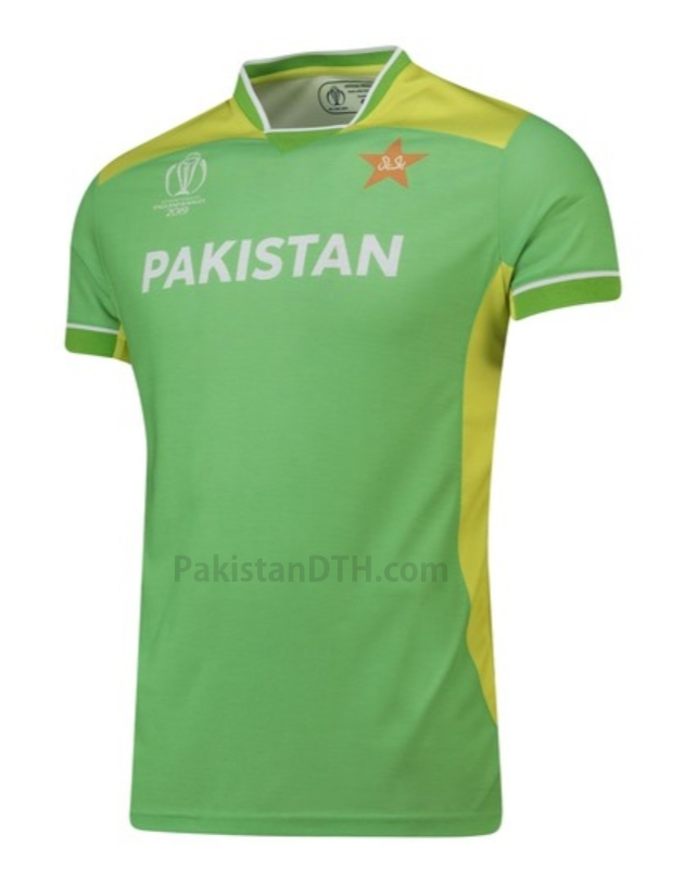 Pakistan Team T-Shirt for World Cup 2019