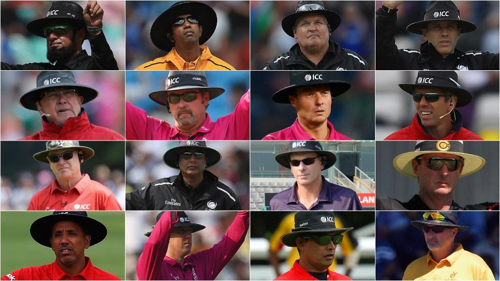 Umpires for the ICC Cricket World Cup 2019