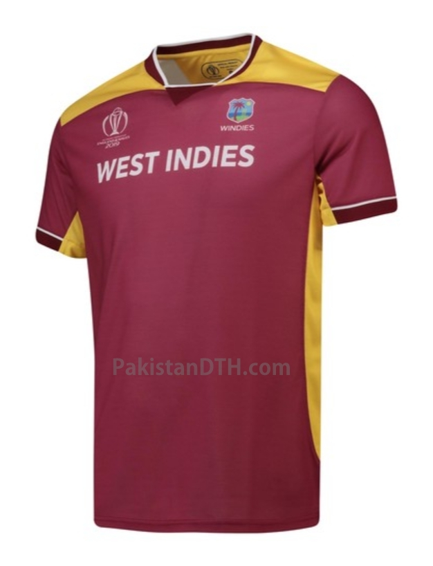 West Indies Team T-Shirt for World Cup 2019
