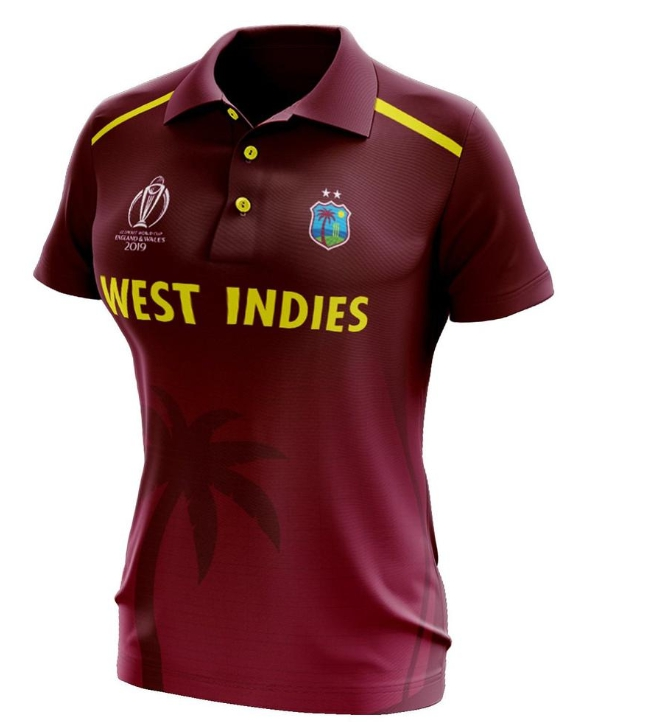 West Indies ICC Cricket World Cup 2019 Jersey Kit