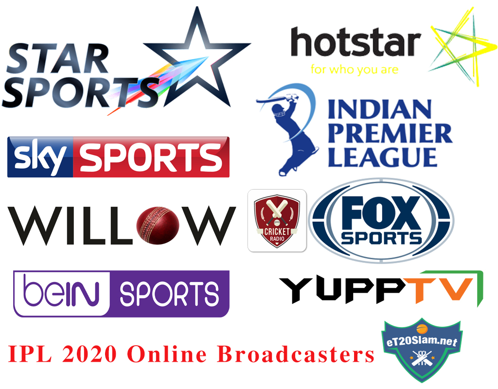 IPL 2020 Channels Guide Broadcast